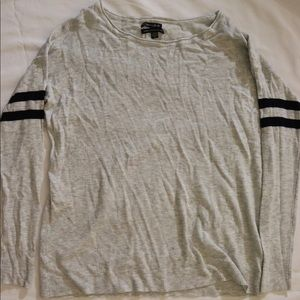American Eagle Outfitters knit baseball sweater